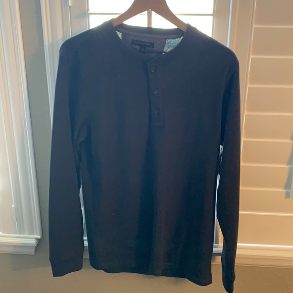 Banana Republic Long Sleeve Henley Tee